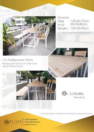 Meja Cafe Pekanbaru
